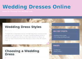 weddingdressonlinesale.co.uk