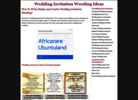 weddinginvitationwordingideas.com