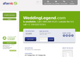 weddinglegend.com
