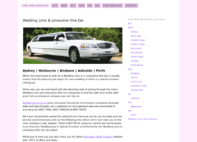 weddinglimo.net.au