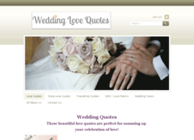 weddinglovequotes.com