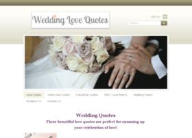 weddinglovequotes.com