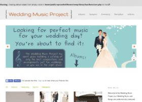 weddingmusicproject.com