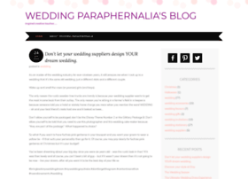 weddingparaphernalia.wordpress.com