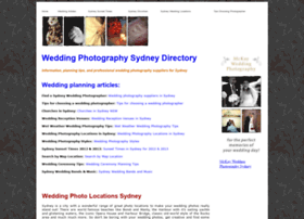 weddingphotographysydney.com.au