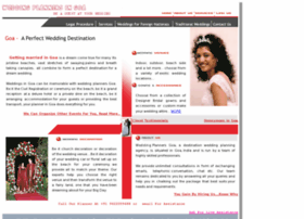 weddingplannersingoa.com