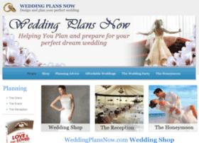 weddingplansnow.com