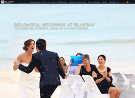 weddings.bluebayresorts.com