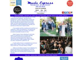 weddingsbymusicexpress.com