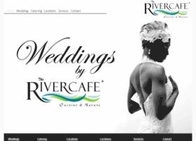 weddingsbyrivercafe.com