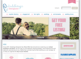 weddingsdesigned.com