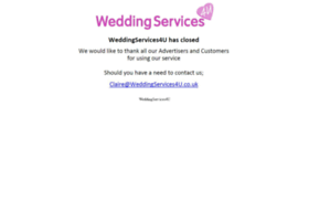 weddingservices4u.co.uk