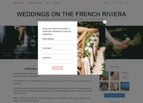 weddingsonthefrenchriviera.com