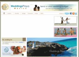 weddingsplayamexico.com