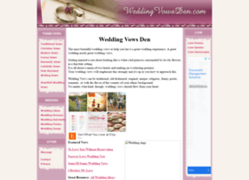 weddingvowsden.com