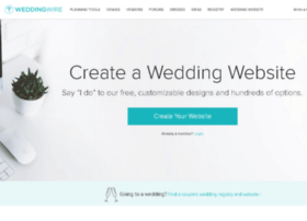 weddingwebsites.weddingwire.com