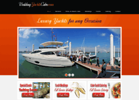 weddingyachtscabo.com