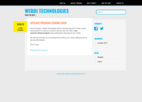wedditechnologies.wordpress.com
