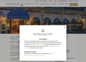wedgewoodhotel.com
