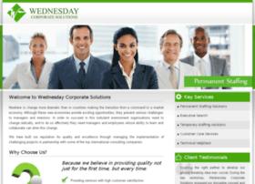 wednesdaycorp.com