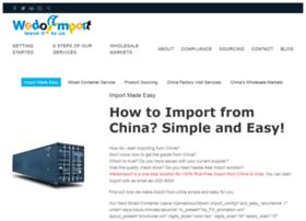 wedoimport.com