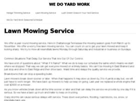 wedoyardwork.com