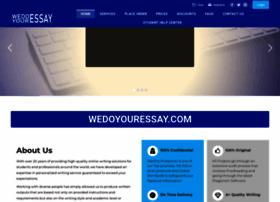 wedoyouressay.com