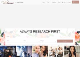 wedresearch.net