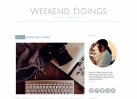 weekenddoings.blogspot.com