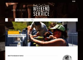 weekendofservice.com