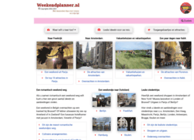 weekendplanner.nl