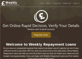 weeklyrepaymentloans.co.uk