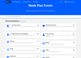 weekplan.userecho.com
