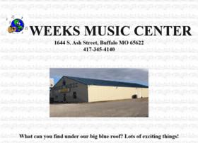 weeksmusicstore.com