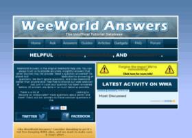 weeworldanswers.yolasite.com