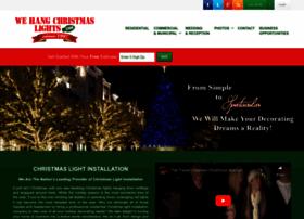 wehangchristmaslights.com