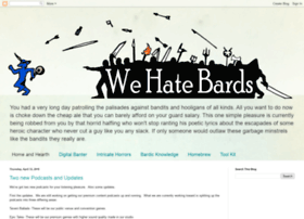 wehatebards.com
