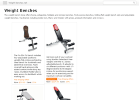 weight-benches.net