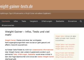 weight-gainer-tests.de