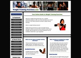 weight-training-exercises.com