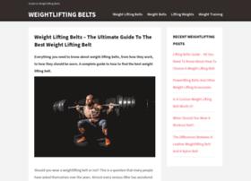 weightliftingbelts.co.uk