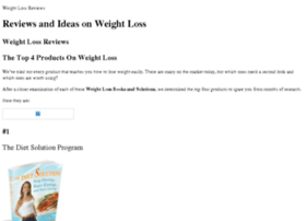weightloss-1r4m6cjh.trustedreviewfinder.com