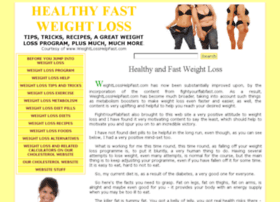 weightloss.cholesterolcholestrol.com