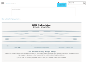 weightloss.webmd.com info. BMI Calculator Plus: Personalized BMI for