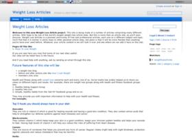 weightlossarticles.wikidot.com