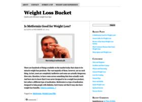 weightlossbucket.com