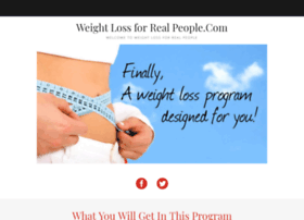 weightlossforrealpeople.com