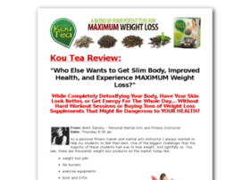 weightlosskoutea.com