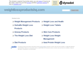 weightlossproductshq.com