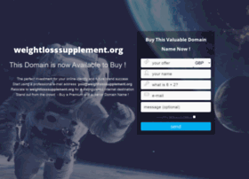 weightlosssupplement.org